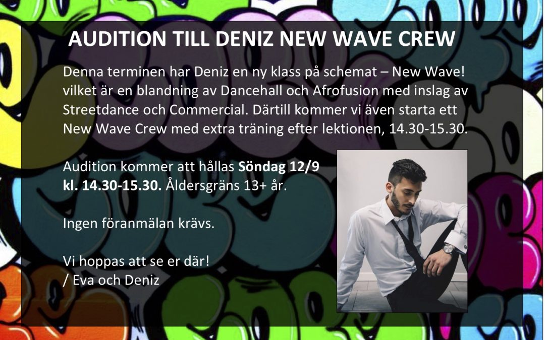 AUDITION New Wave Crew